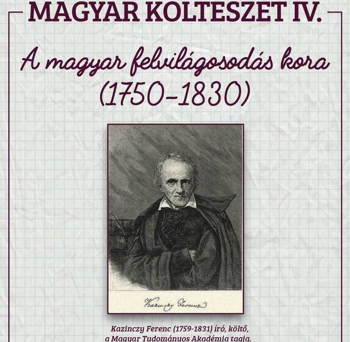 Magyar költészet IV – A magyar felvilágosodás