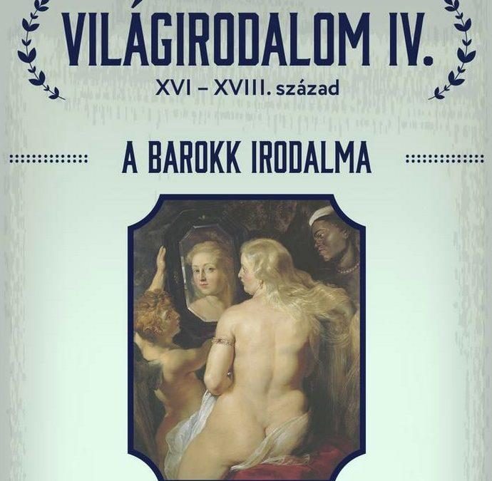 Világirodalom IV – A barokk irodalma