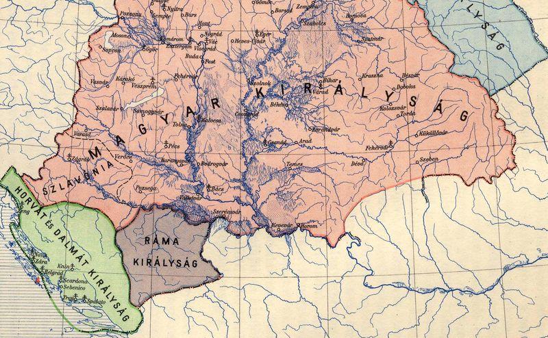 Horvátország, Bosznia es Magyarország a 12. századtól