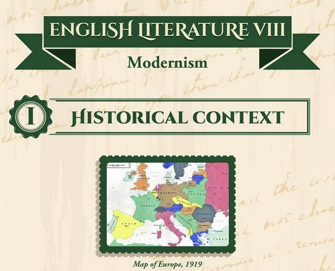 English literature VIII – Modernism