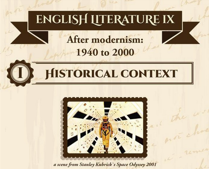 English literature IX – After Modernism